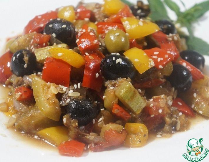 Рецепт: Овощное рагу Капоната