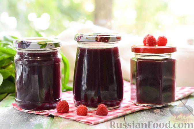 Фото к рецепту: Желе из малины без загустителей (на зиму)