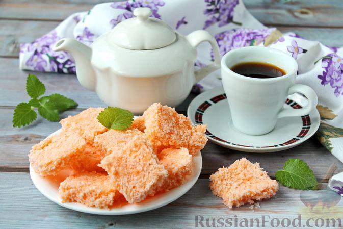 Фото к рецепту: Кокосовые конфеты