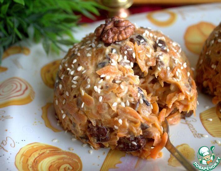 Рецепт: Индийская сладость из моркови