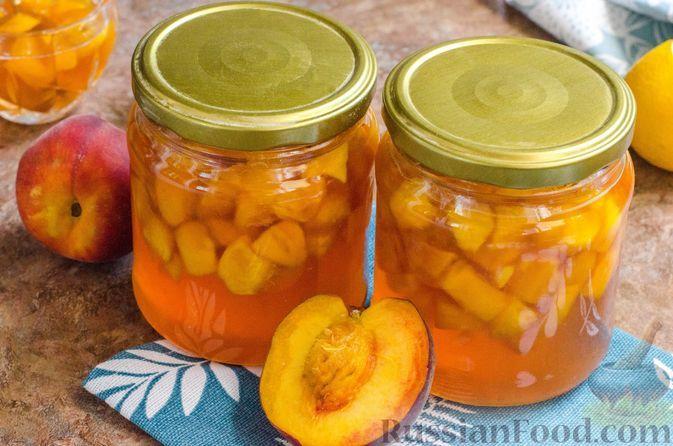 Фото к рецепту: Персиковое варенье