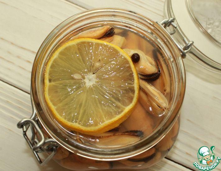 Рецепт: Маринованные мидии с лимоном