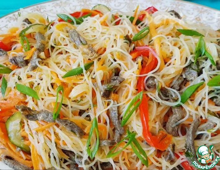 Рецепт: Салат из Фунчозы