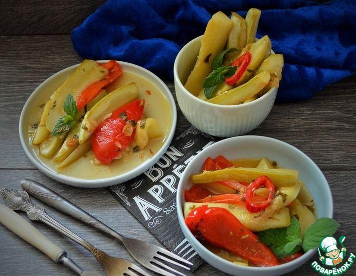 Рецепт: Овощи в соусе Агродольче