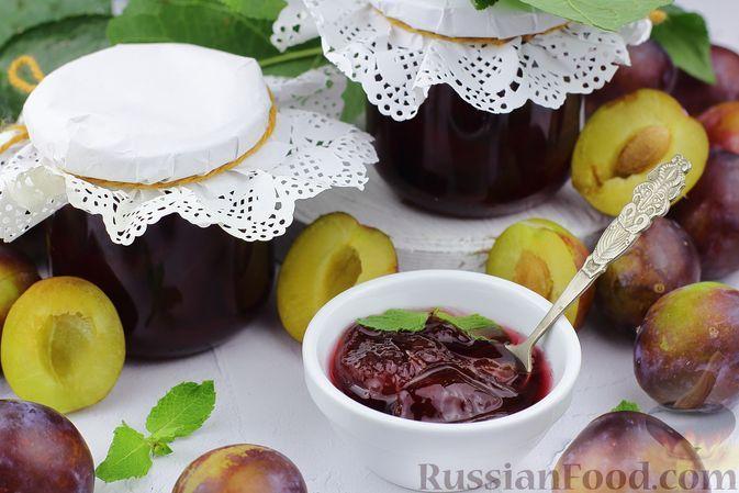 Фото к рецепту: Сливовое варенье с лимоном