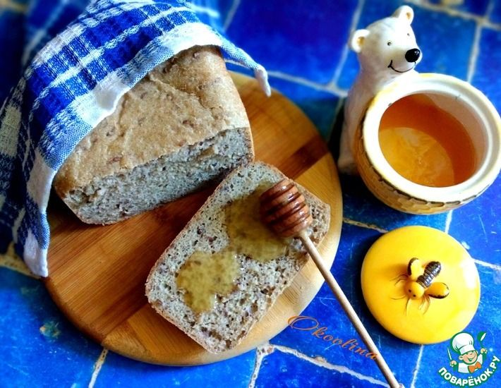 Рецепт: Хлеб злаково-медовый