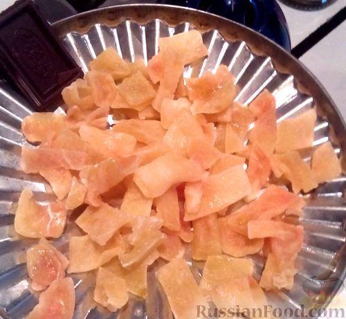 Фото к рецепту: Цукаты из арбузных корок