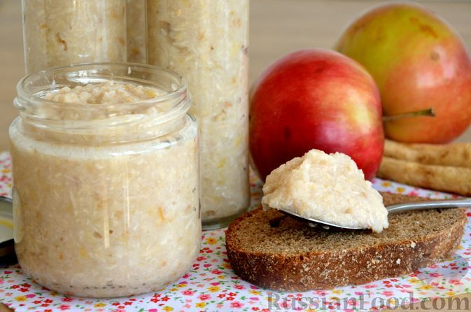 Фото к рецепту: Хреновина с яблоками