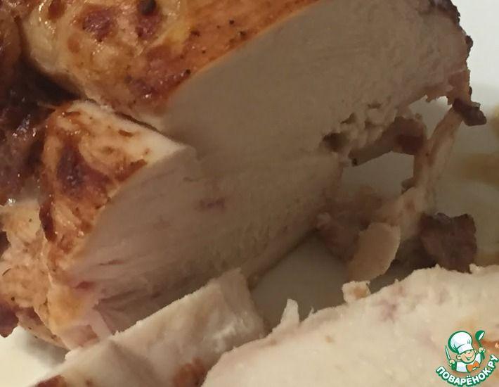 Рецепт: Сочная куриная грудка вместо колбасы