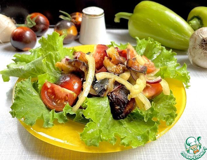 Рецепт: Баклажановый салат Дачник