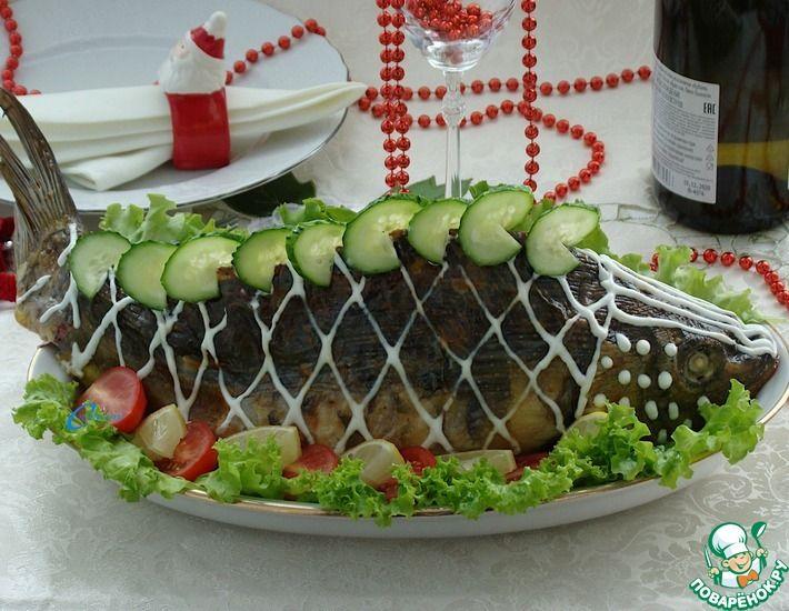 Рецепт: Рождественский пражский карп с киноа