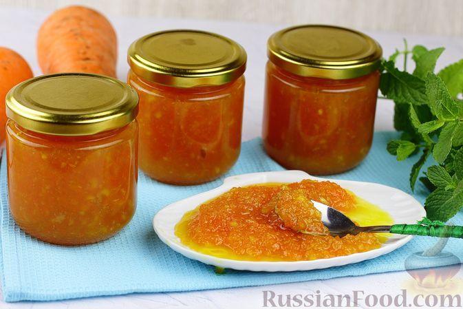 Фото к рецепту: Варенье из моркови с лимоном
