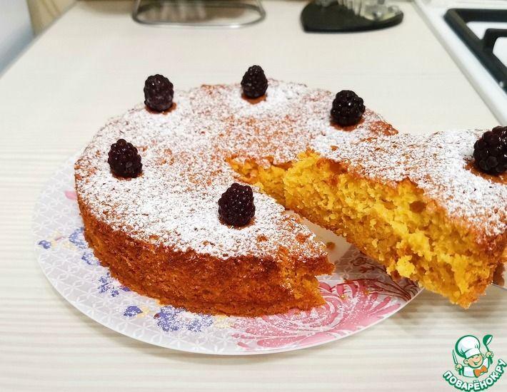 Рецепт: Простой морковный пирог