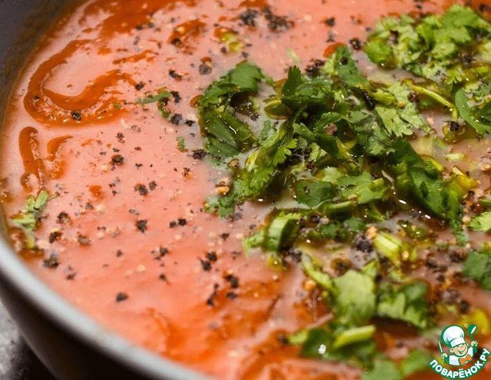 Рецепт: Томатный суп