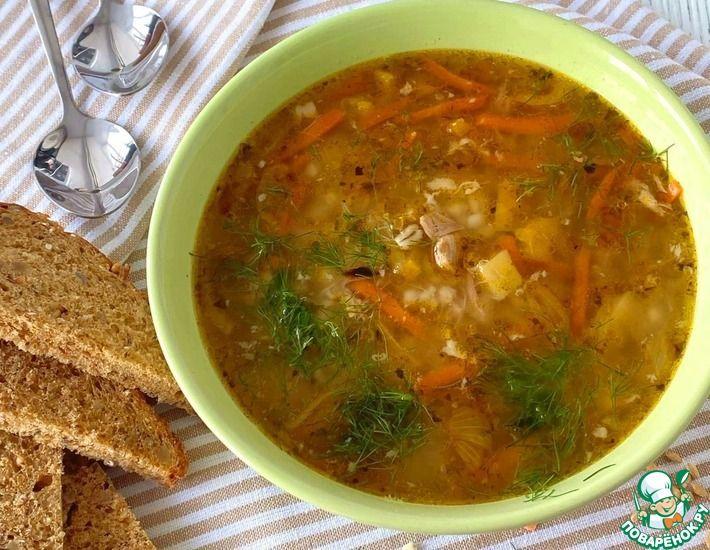 Рецепт: Суп 6 ложек