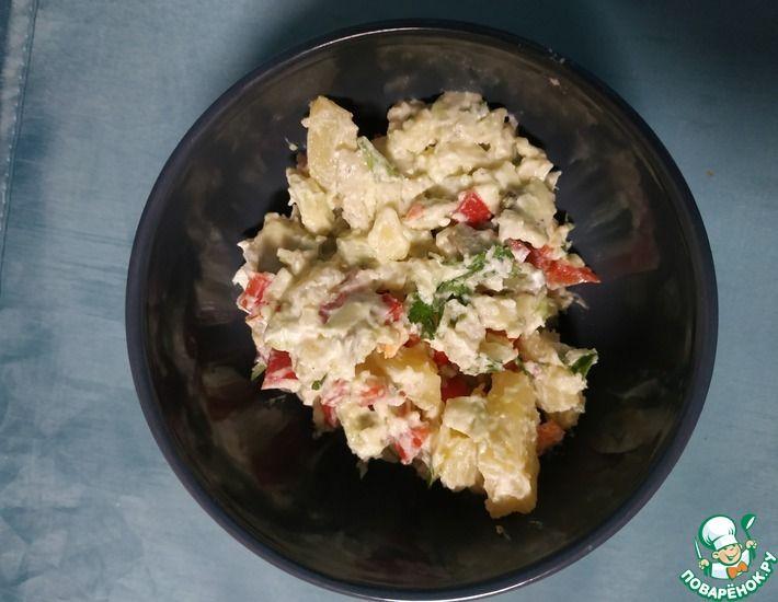 Рецепт: Картофельный салат с авокадо