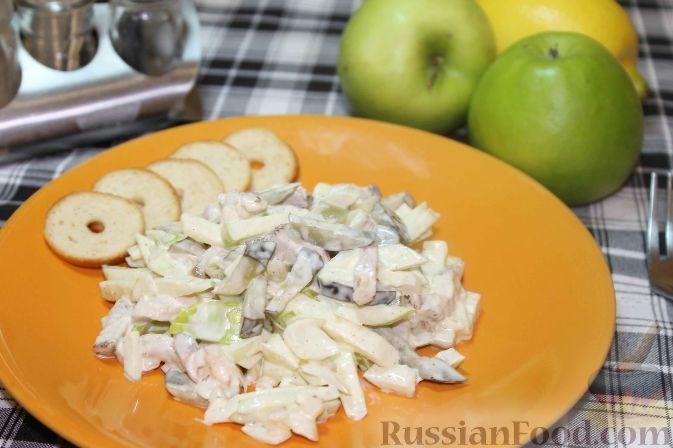 """Фото к рецепту: Салат на Новый год """"Пражский"""""""