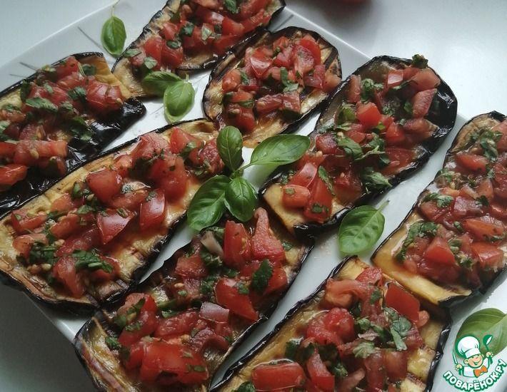 Рецепт: Баклажановый салат по-армянски