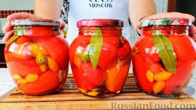 Фото к рецепту: Фаршированные перцы на зиму