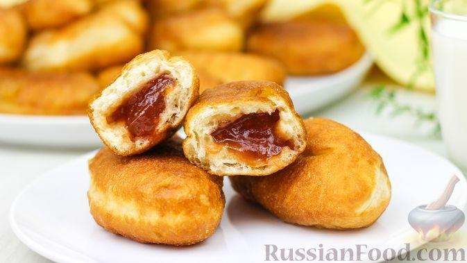Фото к рецепту: Жареные пирожки с повидлом