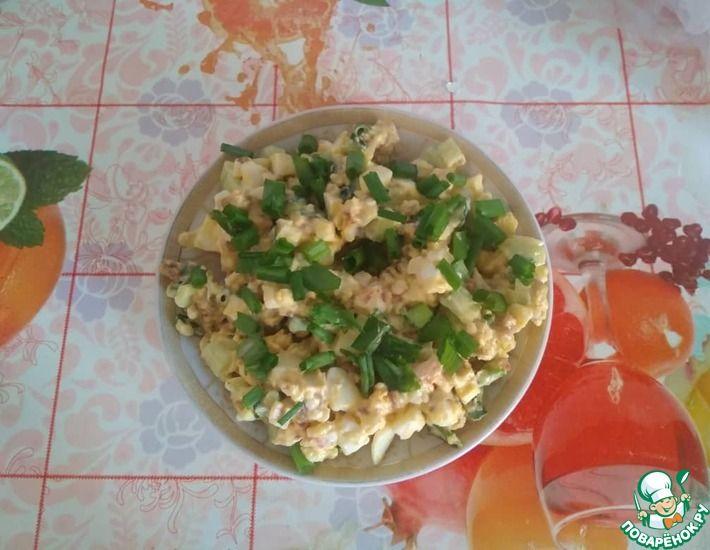 Рецепт: Вкусный салат со свиным фаршем