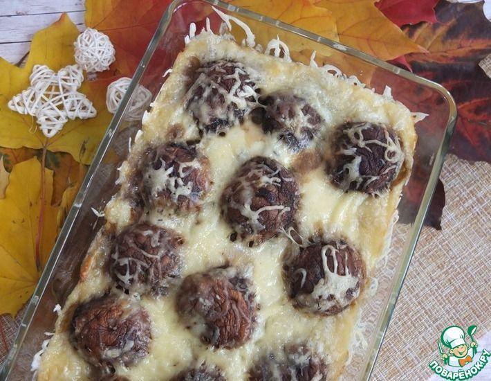 Рецепт: Картофельная запеканка с шампиньонами