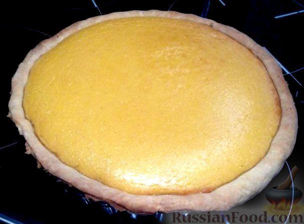 Фото к рецепту: Тыквенный пирог