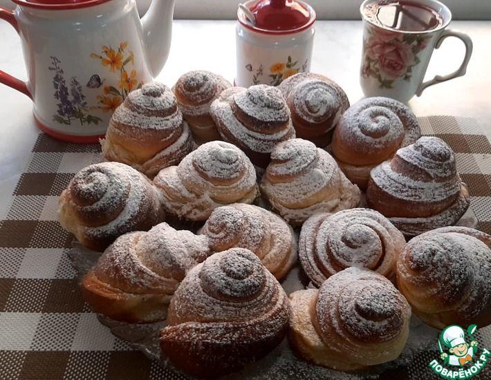Рецепт: Воздушные домашние булочки