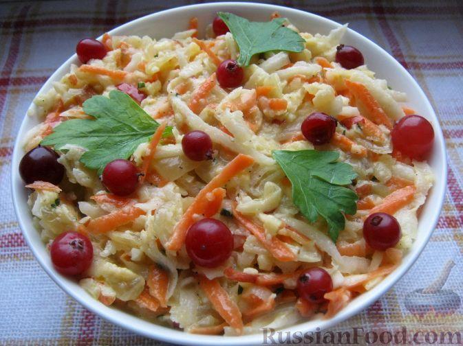 Фото к рецепту: Салат из редьки с майонезом