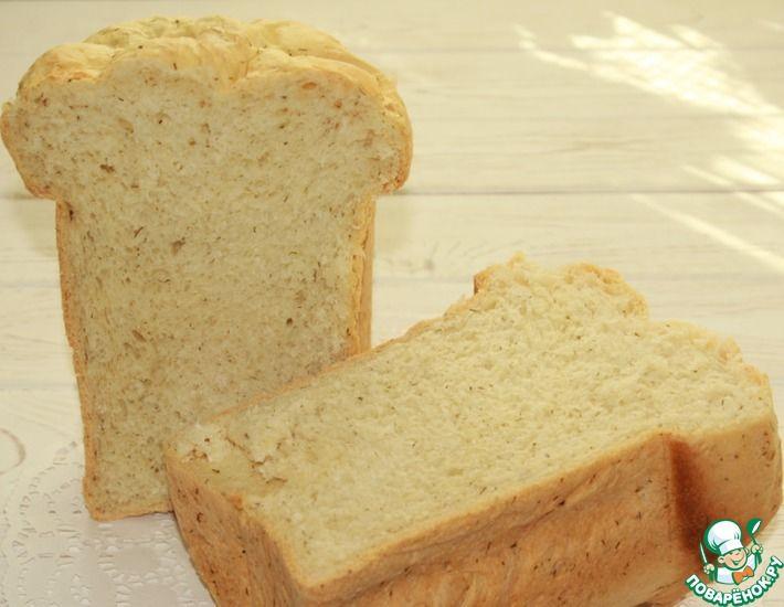 Рецепт: Хлеб с творожным сыром в хлебопечке