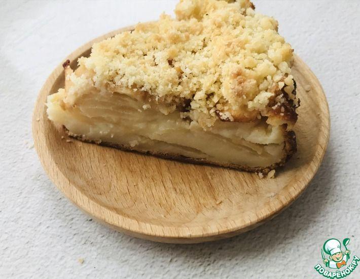 Рецепт: Пирог Невидимка с яблоками