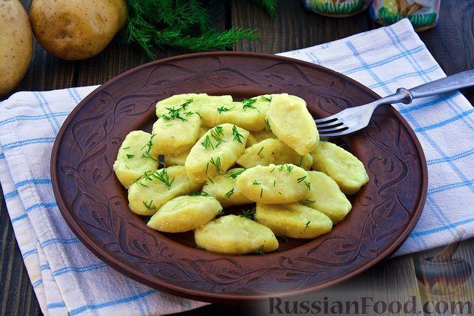 Фото к рецепту: Ленивые вареники с творогом и картошкой