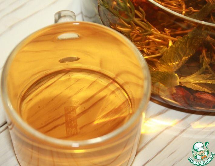 Рецепт: Чай из боярышника с травами
