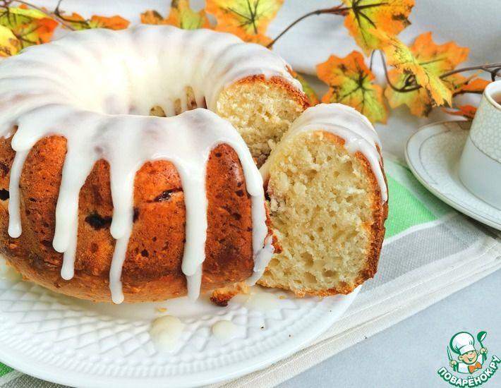 Рецепт: Творожно-кокосовый пирог Интрига